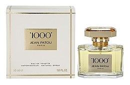 Düfte, Parfümerie und Kosmetik Jean Patou 1000 - Eau de Toilette