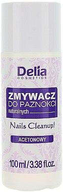 Nagellackentferner mit Olivenextrakt und Weizenkeimöl - Delia Acetone Nail Polish Remover for Natural Nails — Bild N1