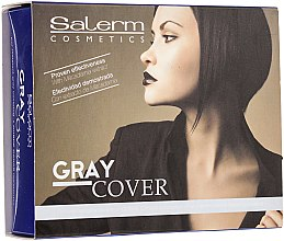 Ampullen zur besseren Einfärbung grauer Haare - Salerm Cubre Canas — Bild N2