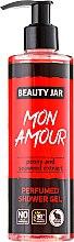 Düfte, Parfümerie und Kosmetik Duschgel mit Pfingstrose- und Algenextrakt - Beauty Jar Mon Amour Perfumed Shower Gel
