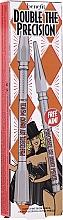 Düfte, Parfümerie und Kosmetik Make-up Set (Augenbrauenstift 0.08g + Augenbrauenstift 0.04g) - Benefit Double Precisely My Brow Pencil