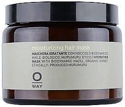 Düfte, Parfümerie und Kosmetik Feuchtigkeitsspendende Haarmaske - Rolland Oway Moisturizing (Glas)
