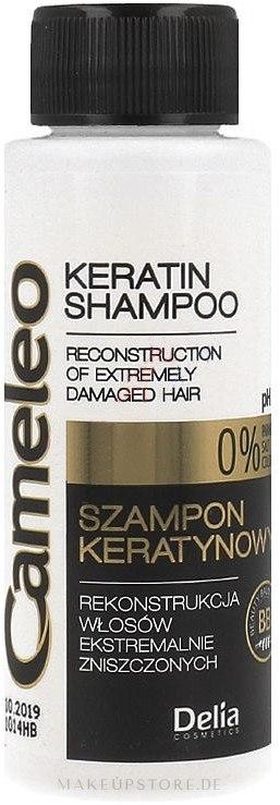 Shampoo mit Keratin für beschädigtes Haar - Delia Cameleo Shampoo — Bild 250 ml