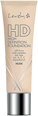 Mattierende Foundation - Lovely HD Fluid — Bild N1
