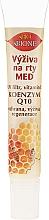 Düfte, Parfümerie und Kosmetik Nährender Lippenbalsam mit Honig und Conezym Q10 - Bione Cosmetics Honey + Q10 Nourishment With Vitamins E, A And D Lip