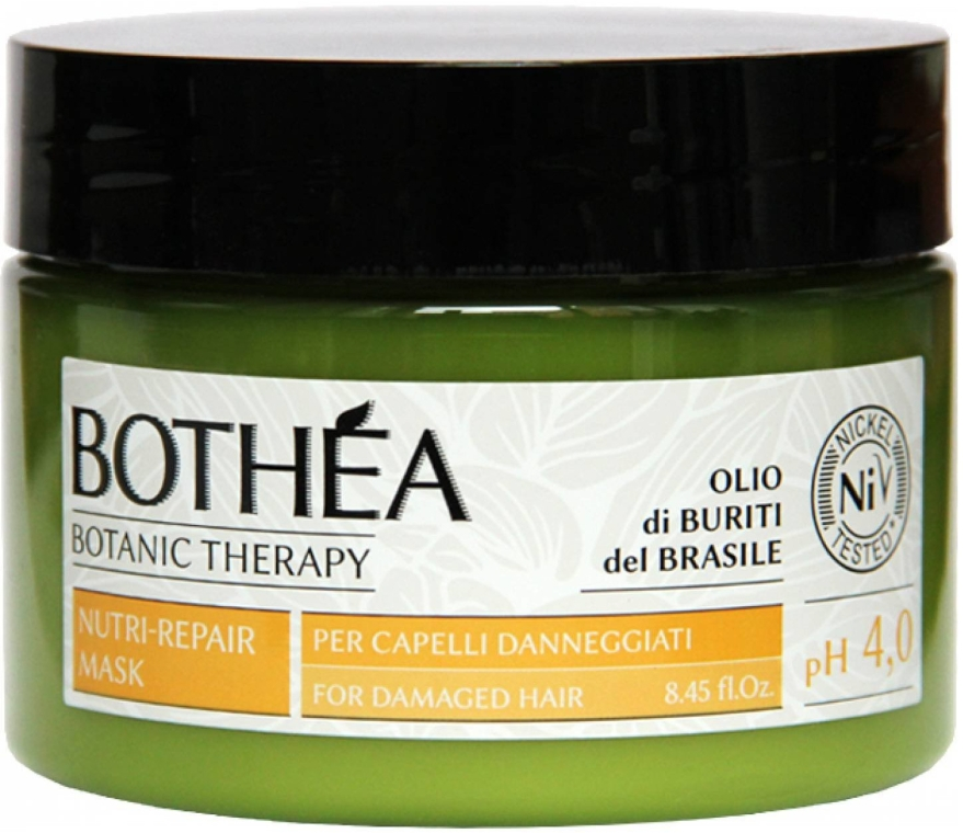 Haarmaske für geschädigtes Haar - Bothea Botanic Therapy Nutri-Repair Mask pH 4.0 — Bild N1