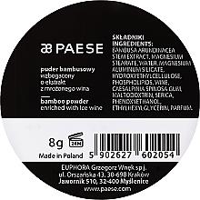 Loser Bambuspuder mit Seidenprotein und Weinextrakt - Paese Bamboo Powder With Silk And Frozen Wine Extract — Bild N4