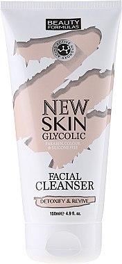 Gesichtsreinigungsmilch - Beauty Formulas New Skin Glycolic Facial Cleanser — Bild N1