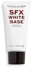 Aufhellende Make-up Base - Makeup Revolution Halloween SFX White Liquid Face Base — Bild N2
