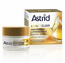 Düfte, Parfümerie und Kosmetik Feuchtigkeitsspendende Anti-Aging Tagescreme mit Argan-, Macadamia- und Mandelöl - Astrid Moisturizing Anti-Wrinkle Day Cream