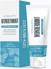 Düfte, Parfümerie und Kosmetik Erfrischende Zahnpasta mit kühler Minze - Schmidt's Wondermint Toothpaste