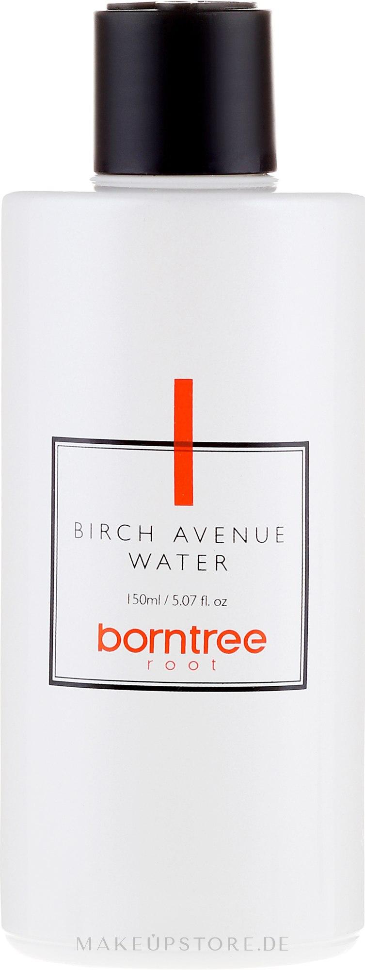 Feuchtigkeitsspendendes Gesichtswasser mit pflanzlichen Stammzellen - Borntree Root Birch Avenue Water — Bild 150 ml