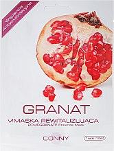 Düfte, Parfümerie und Kosmetik Tuchmaske für das Gesicht mit Granatapfel - Conny Pomegranate Essence Mask