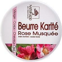 Düfte, Parfümerie und Kosmetik Sheabutter für Gesicht und Körper mit Rose - Naturado Musk Rose & Shea Butter