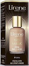 Düfte, Parfümerie und Kosmetik Langanhaltende flüssige Foundation - Lirene No Mask Lasting Foundation + Serum
