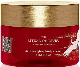Düfte, Parfümerie und Kosmetik Feuchtigkeitsspendende Körpercreme mit Gold und Kiefer - Rituals The Ritual of Tsuru Body Cream
