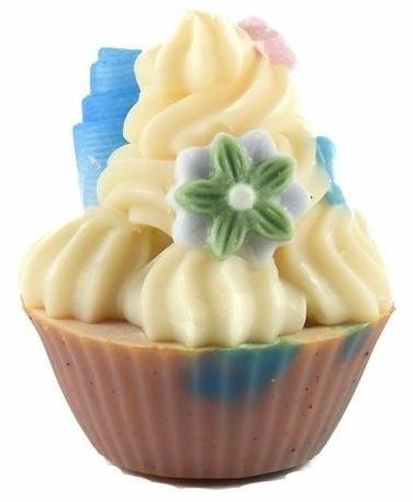 Handgemachte Naturseife Cupcake Peony & Pomegranate - Bosphaera Peony With Pomegranate Soap — Bild N1