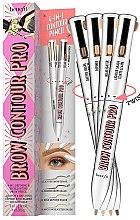 Düfte, Parfümerie und Kosmetik 4in1 Augenbrauenstift - Benefit Brow Contour Pro