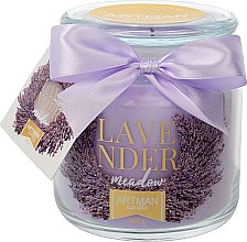 Düfte, Parfümerie und Kosmetik Duftkerze im Glas Lavendel - Artman All Season Jar Lavender Meadow Ø10 x H11 cm (360 g)