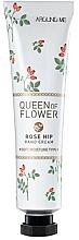 Düfte, Parfümerie und Kosmetik Feuchtigkeitsspendende Handcreme mit Hagebuttenöl - Welcos Around Me Queen of Flower Rose Hip Hand Cream