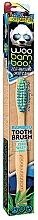 Düfte, Parfümerie und Kosmetik Bambus Zahnbürste weich grün-blau - Woobamboo Toothbrush Zero Waste Adult Bamboo Soft Bristle