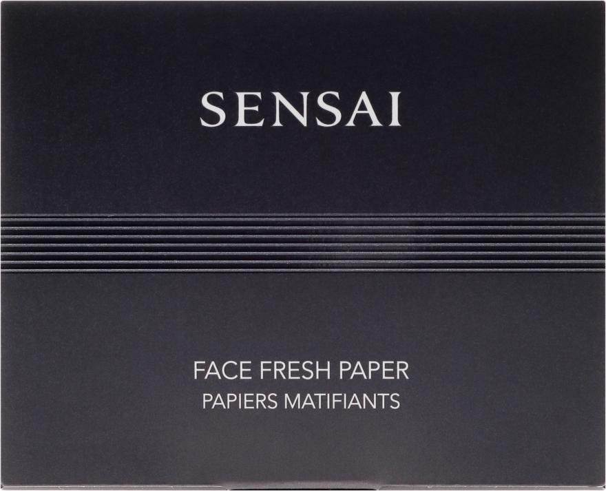 Mattierende Gesichtstücher - Kanebo Sensai Face Fresh Paper — Bild N1