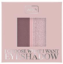 Düfte, Parfümerie und Kosmetik Lidschatten-Duo - Wibo I Choose What I Want Duo Eyeshadow