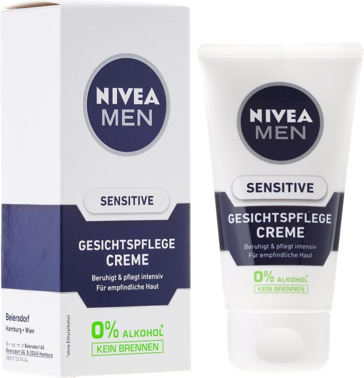 Beruhigende Gesichtscreme für empfindliche Haut - Nivea For Men Sensitive Soothing Cream — Bild N1