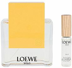 Düfte, Parfümerie und Kosmetik Loewe Solo Loewe Ella - Duftset (Eau de Toilette 100ml + Eau de Toilette 7.5ml)