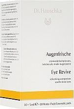 Düfte, Parfümerie und Kosmetik Stärkende Kompressen für die müde Augenpartie - Dr. Hauschka Eye Revive