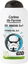 Düfte, Parfümerie und Kosmetik 2in1 Extra sanftes Duschgel und Shampoo für Kinder Star Wars - Corine de Farme Star Wars Force