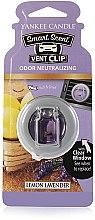 Düfte, Parfümerie und Kosmetik Auto-Lufterfrischer Lemon Lavender Duftclips - Yankee Candle Lemon Lavender Smart Scent Vent Clip