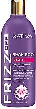 Düfte, Parfümerie und Kosmetik Feuchtigkeitsspendendes Shampoo - Kativa Frizz Off Shampoo