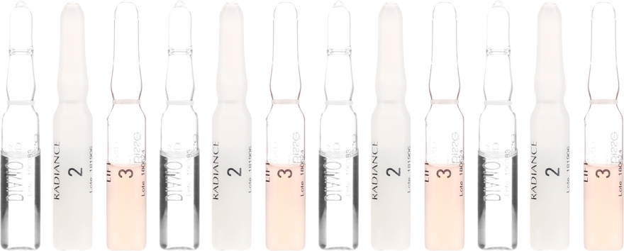 3-stufige Anti-Aging Gesichtsampullen - Natura Bisse Diamond Instant Glow Express Mini-Lift — Bild N2