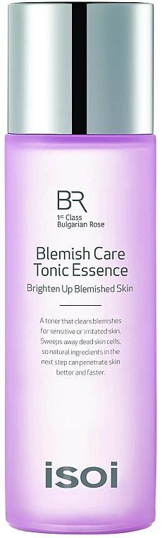Gesichtstonikum mit bulgarischem Rosenöl, Vitamin A und C gegen Hautunreinheiten bei empfindlicher oder gereizter Haut - Isoi Bulgarian Rose Blemish Care Tonic Essence — Bild N1