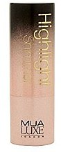 Düfte, Parfümerie und Kosmetik Shimmernder Highlighter - MUA Luxe Highlight Shimmer Illuminante In Stick