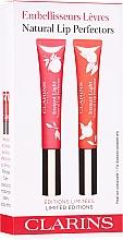 Düfte, Parfümerie und Kosmetik Lippenpflegeset - Clarins Natural Lip Perfector Set Limited Edition (lip/gloss/2x12ml)