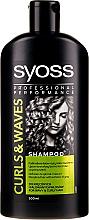 Düfte, Parfümerie und Kosmetik Pflegendes Shampoo für lockiges Haar - Syoss Curls & Waves Shampoo