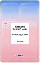 Düfte, Parfümerie und Kosmetik Feuchtigkeitsspendende Tuchmaske für das Gesicht in 3 Schritten für strahlende Haut - Jayjun Intensive Shining Mask