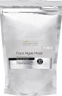 Alginat-Gesichtsmaske mit Aktivkohle - Bielenda Professional Algae Face Mask With Activated Carbon — Bild N1