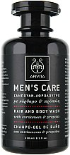 Düfte, Parfümerie und Kosmetik Haar- und Kärpershampoo mit Kardamom und Propolis - Apivita Men Men's Care Hair and Body Wash With Cardamom & Propolis