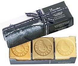 Düfte, Parfümerie und Kosmetik Seifen-Geschenkset - La Corvette Provence Soap Gift Box (Seife 3x100g)
