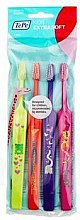Düfte, Parfümerie und Kosmetik Kinderzahnbürsten Set -4 Stk., Extra weich - TePe Kids X-Soft