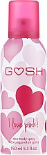 Deospray - Gosh I Love Pink Deo Body Spray — Bild N1