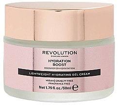 Feuchtigkeitsspendende Gel-Creme mit Hyaluronsäure - Makeup Revolution Lightweight Hydrating Gel Cream — Bild N1