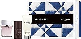 Düfte, Parfümerie und Kosmetik Calvin Klein Euphoria Men - Duftset (Eau de Toilette 100ml + Duschgel 100ml + Deospray 75ml)