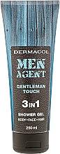 Düfte, Parfümerie und Kosmetik Duschgel - Dermacol Men Agent Gentleman Touch 3in1 Shower Gel