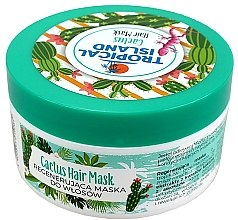 Düfte, Parfümerie und Kosmetik Regenerierende Haarmaske mit Kaktus - Marion Tropical Island Cactus Hair Mask