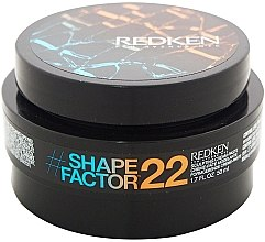 Düfte, Parfümerie und Kosmetik Formgebende Creme-Paste für das Haar - Redken Flex Shape Factor 22 Sculpting Cream Paste