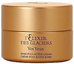Düfte, Parfümerie und Kosmetik Luxuriöses Augenserum gegen Fältchen, Schwellungen und Augenringe - Valmont Elixir Des Glaciers Serum